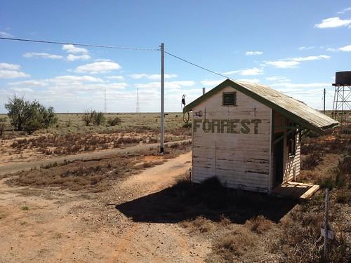 Forrest railway station, Trans Australia Railway