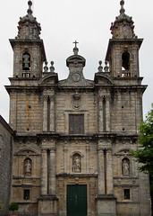 Fachada da igrexa do Mosteiro de Poio (Lansbricae) Tags: espaa espanha galicia galiza pontevedra galega flickraward flickeiros gettyimagesiberiaq3