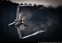 Breitling Sion Airshow 2011 : F18 Hornet : Sigma 120 400