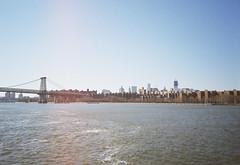* (Amaury_Santos) Tags: nyc newyorkcity ny newyork water river landscape downtown manhattan olympus xa2 eastriver williamsburg olympusxa2 williamsburgbridge brookyn