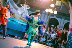 It's a music celebration | Soundsational (chris.alcoran) Tags: lighting street white snow color ariel colors st canon court lens mouse photography eos three dancers princess little disneyland main mary royal sigma tinkerbell peterpan dancer disney mickey parade frog peter aurora belle l pan cinderella minnie mermaid flappers 70300mm performers rapunzel ef princesses cymbal mickeys 6d caballeros poppins 24105mm soundsational