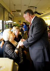 04-04-2014 Governor Bentley stops at Blue Plate Cafe in Huntsville