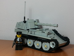Marder III M (italianww2builder) Tags: war tank lego iii destroyer ww2 custom panzer marder 38t