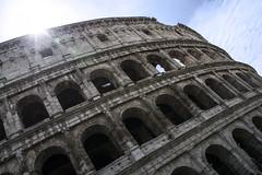 Colosseo (Diekk) Tags: city sky urban rome roma arquitectura nikon arch ciudad arches coliseo cielo urbano arco romanempire colisseum arquitecture colosseo arcos anfiteatro imperioromano d3100