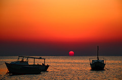 on vacation should one get up early (werner boehm *) Tags: sunrise redsea egypt sonnenaufgang gypten rotesmeer wernerboehm