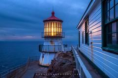 Lighthouse (thecreativeshutter) Tags: california sunset lighthouse nationalpark pointreyes