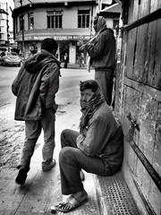 Kohima - Street life (sharko333) Tags: voyage street travel bw man asia asien olympus asie indien reise kohima nagaland em1