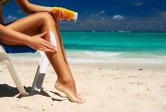 why i will never use sunblock (sarahcolon) Tags: skin cancer