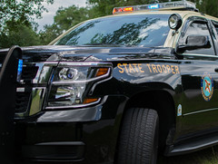 State Trooper SUV Florida (Just Life thru a Lens) Tags: new trooper car lights nice highway state florida fast police vehicles vehicle suv siren officer patrol specialty unit fhp