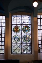 St. Magdalen Chapel, Edinburgh (David_Leicafan) Tags: church scotland edinburgh chapel royalarms roundels 28mmsummicron prereformation