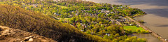 The Village (pidalaphoto) Tags: ny newyork mountains clouds sunrise river dark moody valley hudsonriver hudsonvalley bullhill hudsonhighlands clearingstorm coldspringny mttaurus mounttaurus philipstown