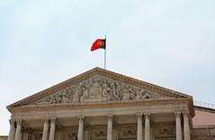 L'Assemble Nationale (hans pohl) Tags: portugal architecture buildings sunny monuments lisbonne colonnes btiments ensoleill
