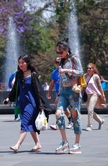 chapultepec 341 (L Urquiza) Tags: street plaza city people public girl de mexico space ciudad bosque museo nacional chapultepec cdmx antropoligia