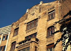 Decayed  Art Nouveau building (elinor04 thanks for 24,000,000+ views!) Tags: building architecture hungary budapest secession architect artnouveau decayed 1905 vidor vidoremil