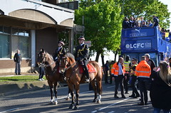 LCFC (Emergency_Vehicles) Tags: city london club football leicester police victory mounted premier league champions officers