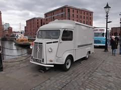 1964 Citron HY (Neil 02) Tags: liverpool van albertdock catering merseyside citroenhy bku401b