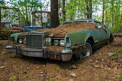 Lost In the Pinelands (Robert Jack Images) Tags: ford abandoned car newjersey pinelands junkyard oldcar carporn