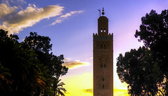 Koutoubia (forastico) Tags: islam marocco marrakech koutoubia moschea minareto d60 forastico