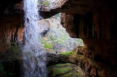 Balaa Meditation (jrseikaly) Tags: portrait lebanon nature water canon landscape jack person photography waterfall high rocks stream dynamic outdoor rocky walkway 7d gorge range lebanese hdr tannourine seikaly baatara jrseikaly