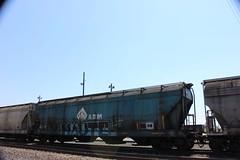 05312016 030 (CONSTRUCTIVE DESTRUCTION) Tags: train graffiti streak adm tag boxcar graff piece haute moniker