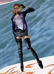 26 (SoakinJo) Tags: thighboots balletheels wetlook wetclothes imvu wetdenim surfinginheels