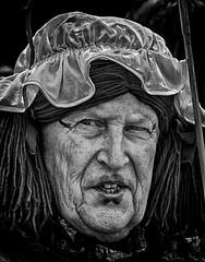 Lipstick on a pig? (Andy J Newman) Tags: street england festival drag unitedkingdom folk candid traditional wig gb lipstick morris tradition dame wrinkles morrisdancing hdr chippenham morrisdancer hdrefex