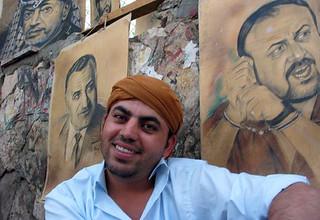Painter, Ramallah