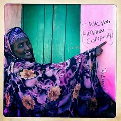 I love you lIibaan thru Iphone Hipstamatic - Somaliland (Eric Lafforgue) Tags: africa woman house apple ad application afrika somali somalia somaliland afrique iphone hornofafrica 2979 somalie britishsomaliland somali   szomlia   hipstamatic soomaaliland