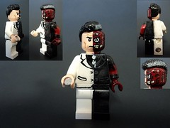 Two-Face (billbobful) Tags: city two face lego dent harvey batman asylum twoface arkham