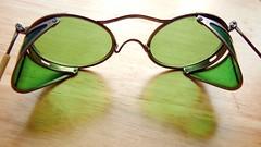 glass vintage goggles steampunk safetygoggles vintagegoggles