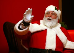 Santa (from Magers & Quinn website)