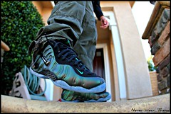 WDYWT 11-30-11 (Never Wear Them) Tags: black green pine you nike wear foam what pro did sole today icey foams foamposite wdywt