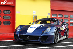 599XX #27 -EXPLORED- (Raphal Belly) Tags: blue black cars car del racetrack photography eos flickr photographie 21 corse xx explorer ferrari explore belly exotic 7d enzo passion programs raphael 27 rb evo bleue autodromo supercars clienti noire raphal mugello finali 599 2011 fxx evoluzione programmes mondiali explored egarage 599xx egaragecom