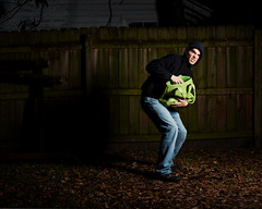 32/365 Backyard Bandit (Todd Douglas Photography) Tags: selfportrait 365 project365 365days strobist