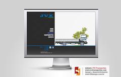 site JVX Transportes (fffdesign) Tags: design site web development transportes desenvolvimento jvx