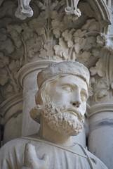 Chartres (Ranulf 1214) Tags: art history roman gothic histoire 28 pascal middle ages sculptures chartres moyen cathédrales eureetloire médiévales minsters gaulain