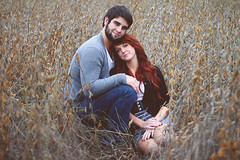 Alexis & David {Engaged} (KylieMeiser) Tags: lighting light cute fall field weather canon vintage happy 50mm couple f14 14 bean 7d soy engaged natty natrual