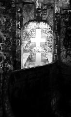 Invertida (colombinapineiro) Tags: light white black blanco luz cross negro cruz bancos montevideo banks cerropandeazucar sonyw370