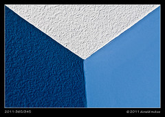 2011-365/345 - Blue Room (DonMcKee) Tags: ca blue white abstract art wall corner us sanjose ceiling concept conceptual concepts odc dominantcolor dominantcolour project365 artstyles ourdailychallenge 3652011