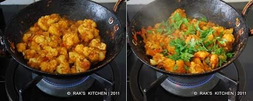 Gobi masala restaurant style step 4