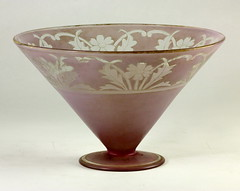 90. Art Deco Flared Bowl