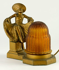91. Art Deco Figural Lamp