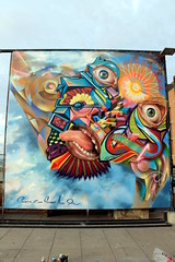 Inacap 2011 (COLOR IMPOSIBLE CREW) Tags: chile color de graffiti valparaiso publicidad y crew asie painters jornadas zade imposible 2011 drk fros inacap salazart siseño