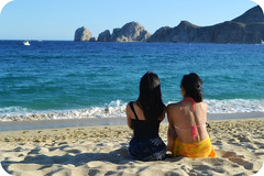 Mom and Daughter (~ a k i ko ~) Tags: family portrait people beach mexico sand nikon cabosanlucas d3100