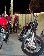 (Global Village AE) Tags: show globe dubai village uae bikes thrill global globalvillage stunts       wheelsofdangerstuntshow