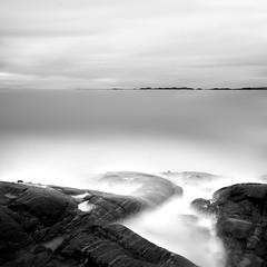 Cream (Aasprong Photography) Tags: ocean longexposure sea white seascape water norway landscape grey goma kristiansund minimalistic saltwater archipelago skorpa nd110 aasprongphotography