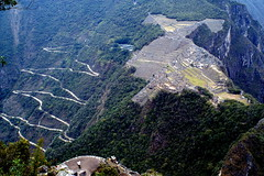 The way to Machu Picchu