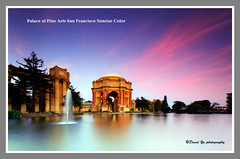 Palace of Fine Arts San Francisco Sunrise Color (davidyuweb) Tags: sanfrancisco california usa color sunrise san francisco soft fine arts 9 palace filter lee edge 75 sfbay sfist gnd