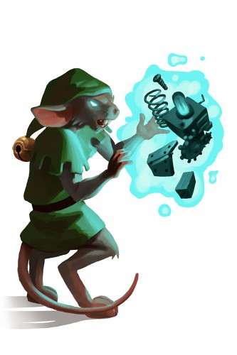 Mad Elf Mouse