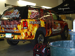 Famous Daves - vehicle wrap - blazer - Soapoint - rear angle (Soapoint Graphics) Tags: sign promotion mobile advertising design marketing graphics display vinyl murals wrap company printing installation shuttle signage format lettering banners custom decals largeformat tradeshow sponsor fabricate wallmural businesssign lightedsign advertisingdesign outdooradvertising vehiclewrap standups buswrap largeformatprinting matteblack printedtshirt mobilemarketing customdesign cardecal businessdesign carwrap autowrap boatwrap vanwrap mobilebillboard vehiclegraphics customprint customsignage motorcyclewrap truckwrap trailerwraps suvwrap racecarwrap customfabrication customcarwrap popupdisplay silkscreenedtshirt graphicwrap fleetvehiclewraps printedgraphics printedclothing backlitgraphic graphicsadvertising flatblackwrap racewrap carwrapinstallation letteringdecal largebuildingsign customsignfabrication signcabinet 3mcertifiedinstall 3mperfered